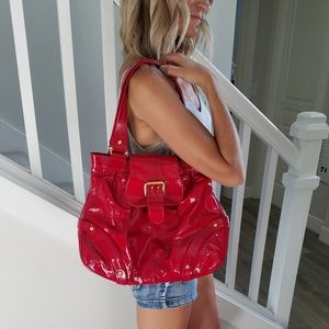 Dooney & Bourke Bags - Dooney & Bourke Limited Edition HP Bag Red
